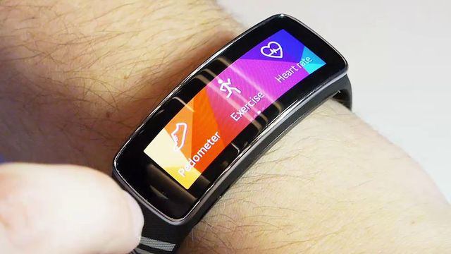 Gear Fit - Erster Praxis-Test - MWC 2014