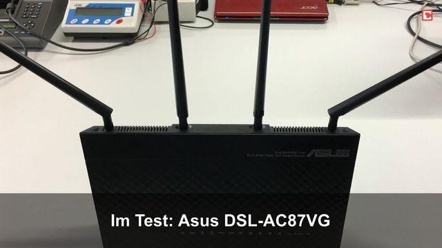 Asus DSL-AC87VG: Eindrücke aus dem Testlabor