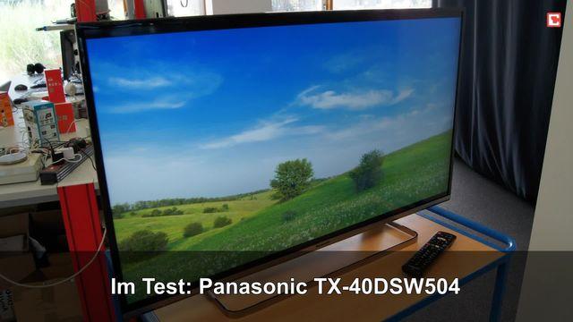 Panasonic TX-40DSW504: Eindrücke aus dem Testabor