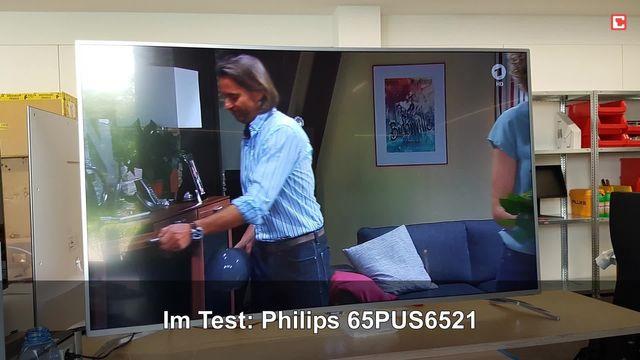 Philips 65PUS6521: Eindrücke aus dem Testlabor