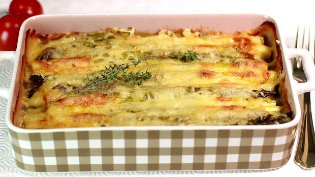 Klassiker mal anders: Rezept für Spargel-Kartoffel-Gratin