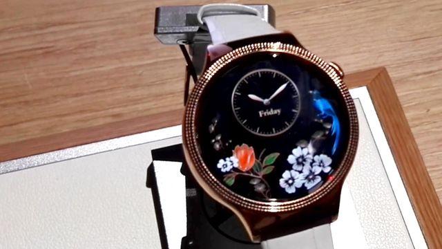 Neuer Glanz für die Huawei Watch: Durch Swarovski-Steine zum Frauen-Liebling