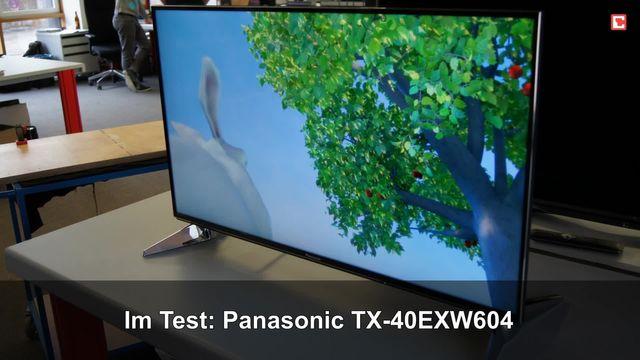 Panasonic TX-40EXW604: Eindrücke aus dem Testlabor