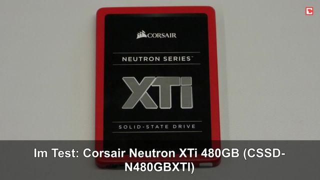 Im Test: Corsair Neutron XTi 480GB (CSSD-N480GBXTI)