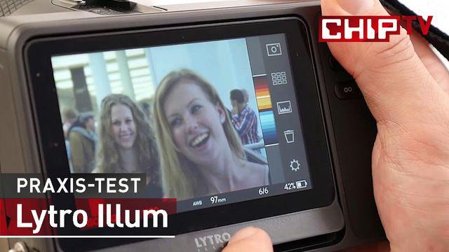 Lytro Illum Lichtfeldkamera - Praxis-Test
