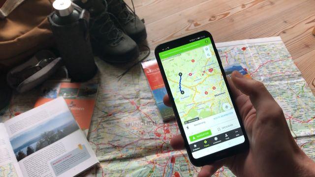 Wander-Apps: Die besten für Android und iOS