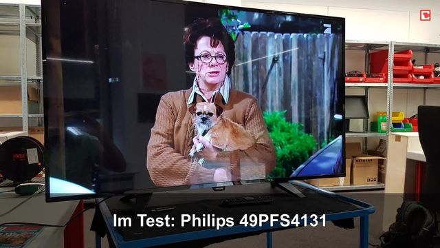 Philips 49PFS4131: Eindrücke aus dem Testlabor