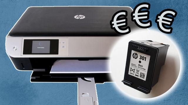 Warum sind Druckerpatronen so teuer?