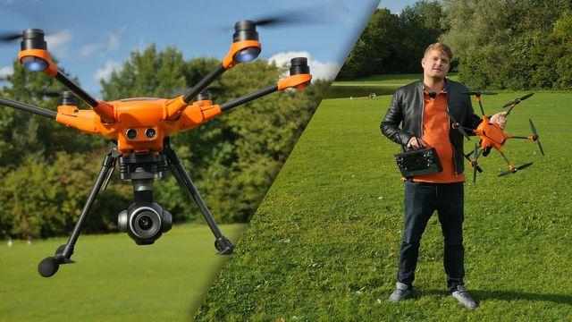 Hexacopter Yuneec H520 im Test