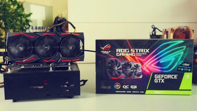 Asus ROG Strix Geforce GTX 1660 Ti - Review
