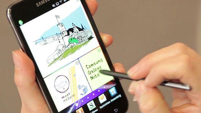 Samsung Galaxy Note N7000 im Test