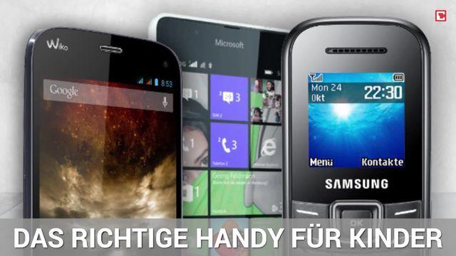 Handys für Kids