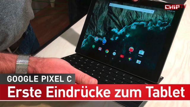 Google Pixel C: Unsere Eindrücke zum neuen Tablet