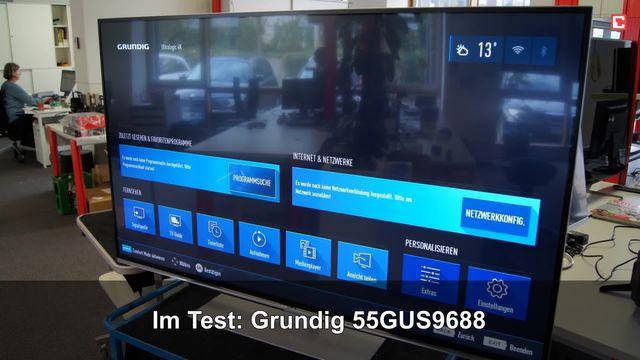 Grundig 55GUS9688: Eindrücke aus dem Testlabor