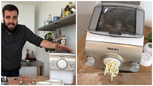 Pasta-Automat für 250 Euro im Praxis-Test: Ein 20-Euro-Gerät schlägt ihn um Längen