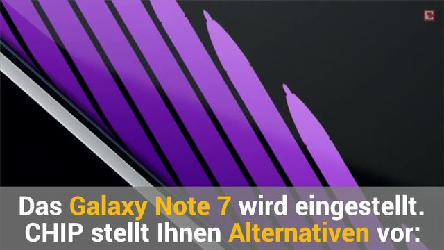 Samsung Galaxy Note 7 Alternativen